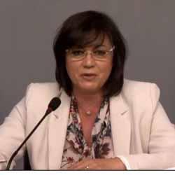 Корнелия Нинова покани Беновска да стане член на БСП, а Беновска поиска да е и член на НС